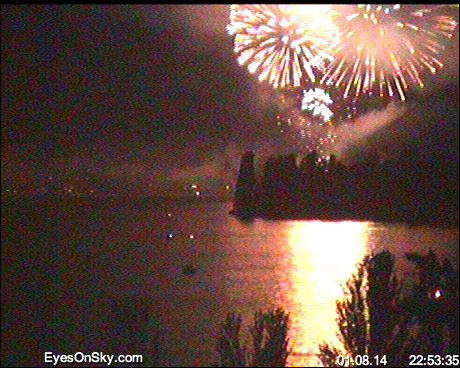 Webcam Lac Léman - Lake Leman by eyesonsky.com