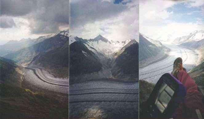 fiesch parapente glacier